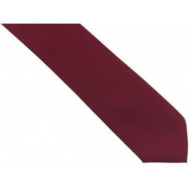 Bordowy krawat męski,...