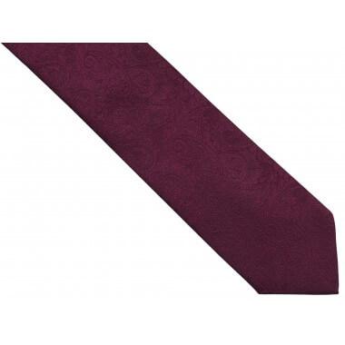 Bordowy/burgundowy krawat...