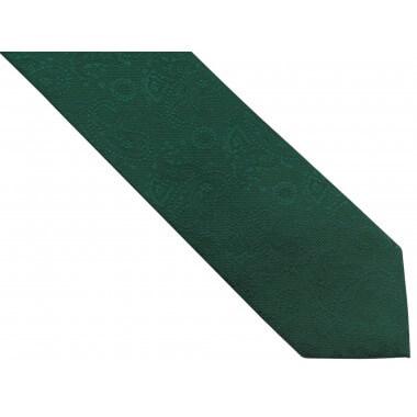 Zielony krawat męski w...