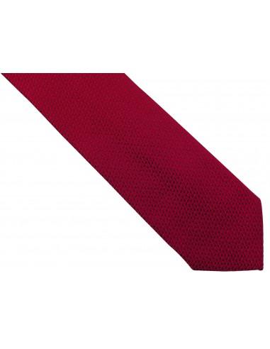 Czerwony krawat męski, strukturalny...