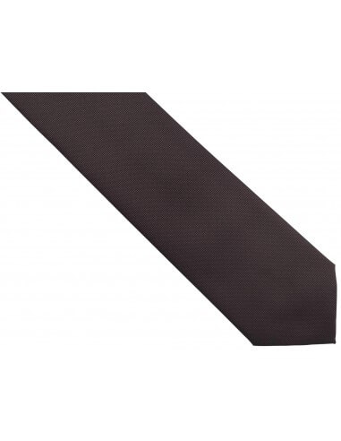 Brązowy krawat męski, strukturalny...