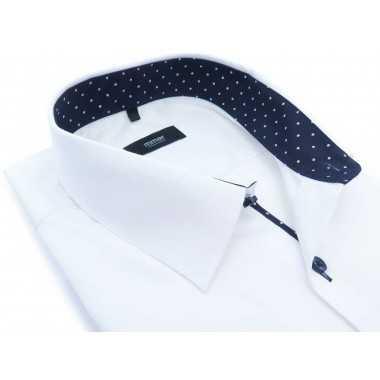 Biała koszula męska Mmer z...