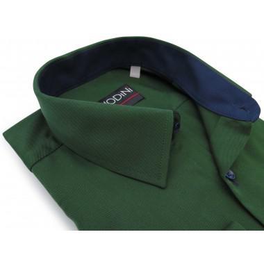 Zielona gładka koszula z...