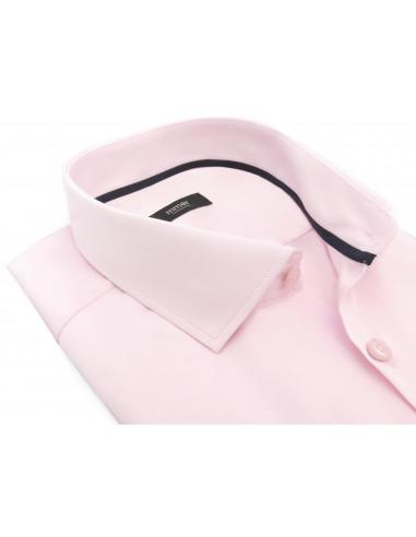 Jasnoróżowa koszula męska Mmer 009