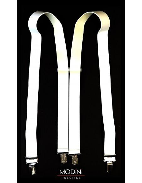 Białe szelki męskie Lloyd SZ7