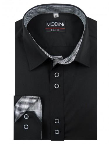 Czarna koszule męska Modini