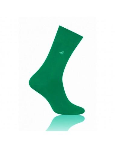 Zielone skarpety męskie