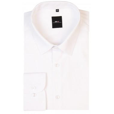 Biała koszula męska Mmer 001