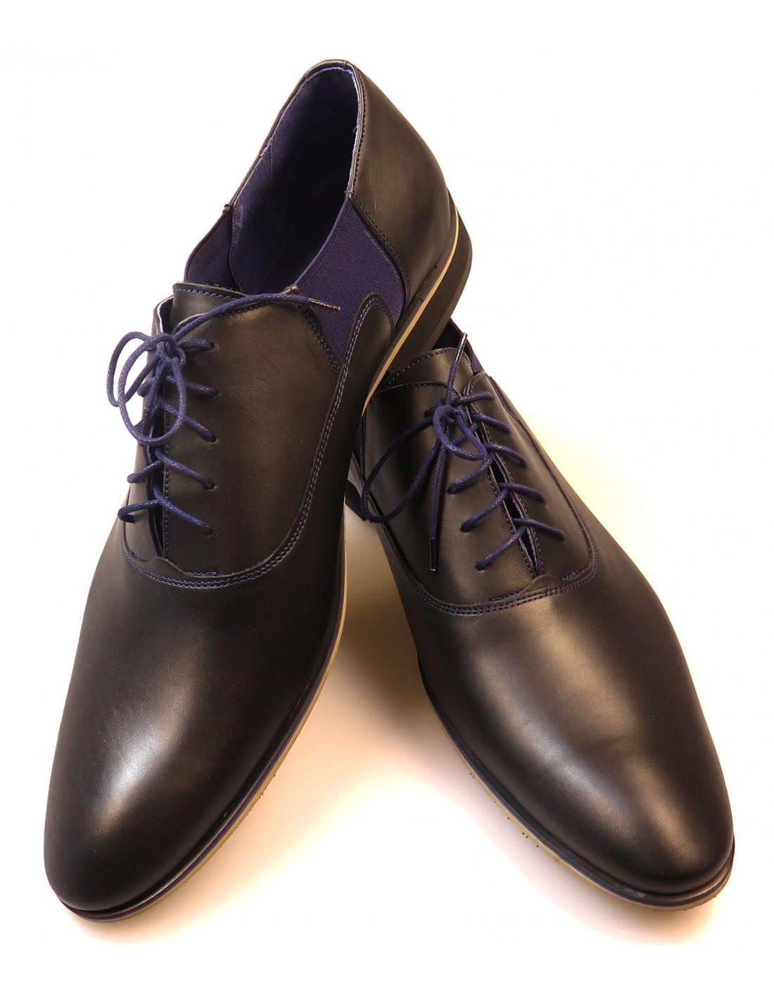 buty ze skóry licowej