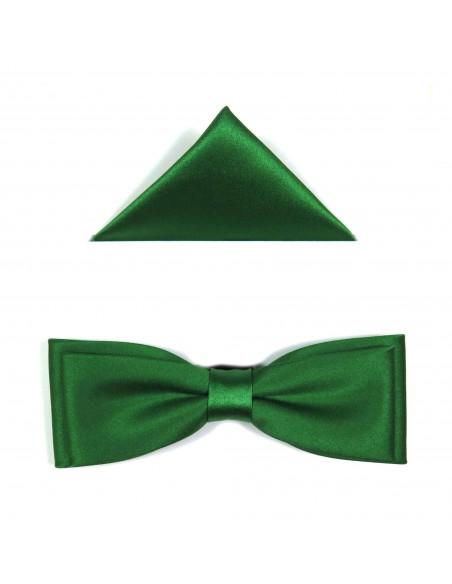 Zielona mucha męska slim 21