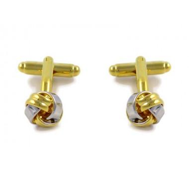 Złote / srebrne spinki - węzeł A72