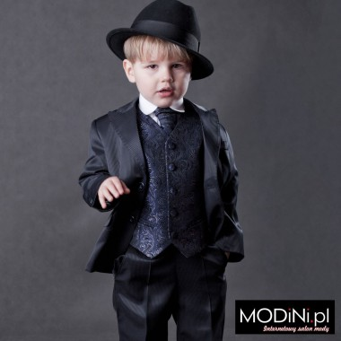 Granatowy garnitur dziecięcy