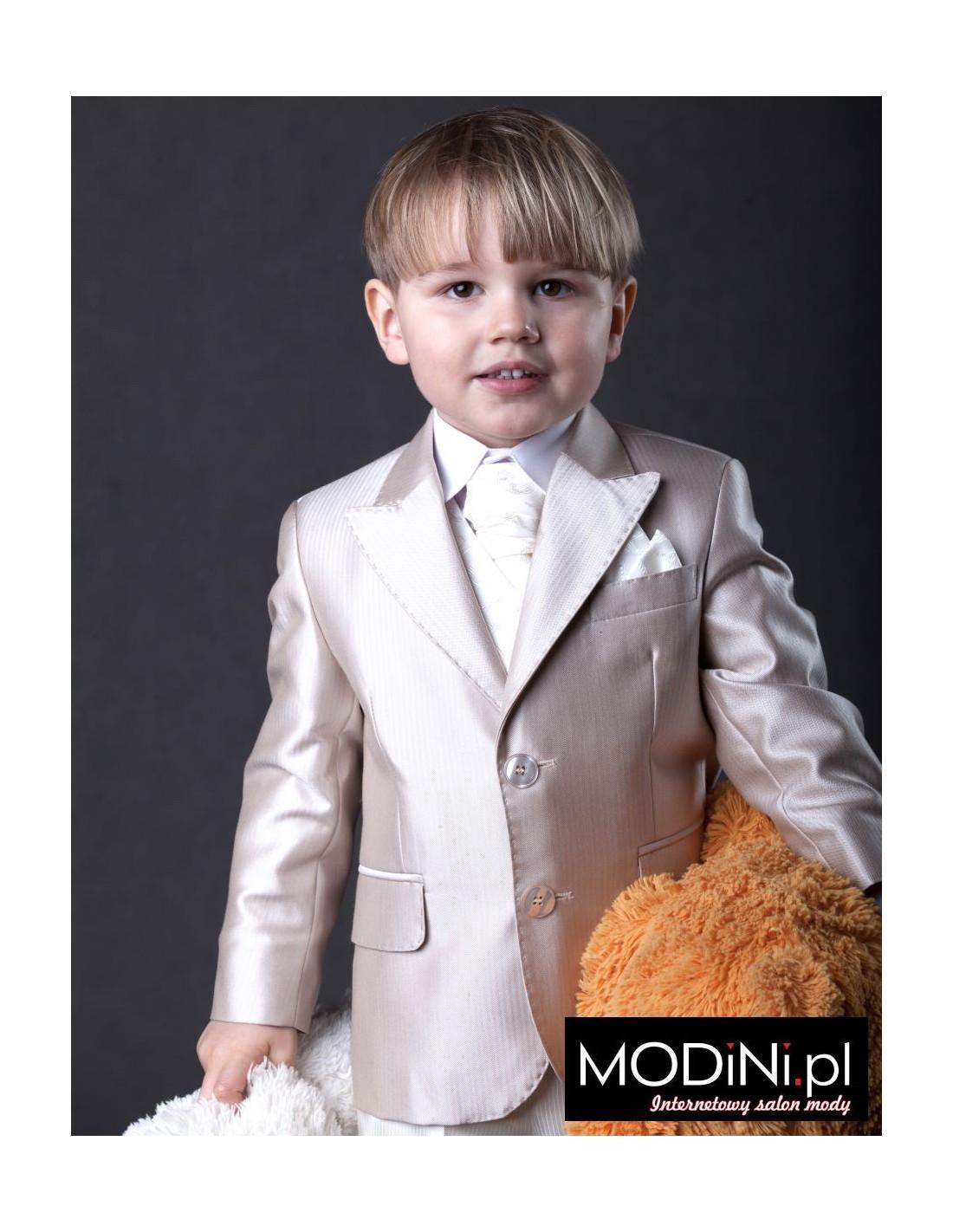 576d4dc2a89d1 Garnitur dziecięcy złoty beż   Sklep Internetowy Modini.pl