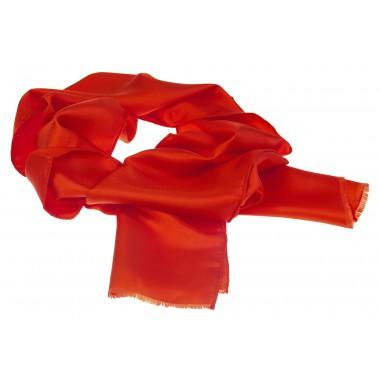 Czerwony szalik męski