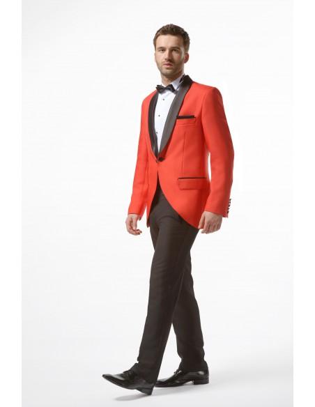 Czerwony smoking - Red Tuxedo