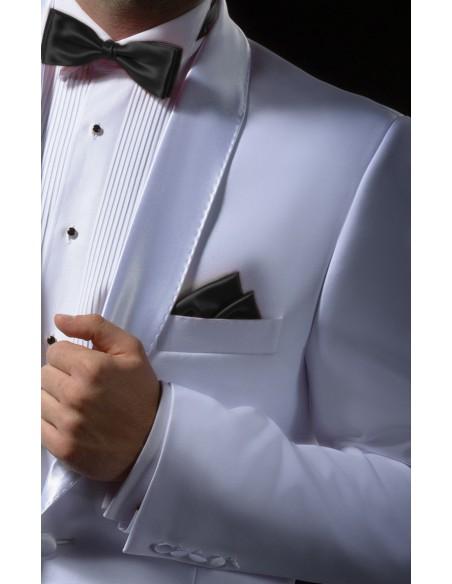 Biały smoking tropikalny - dinner jacket