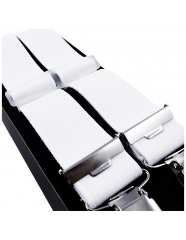 Białe szelki męskie Lloyd L07