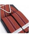 Czerwone szelki męskie z bordem Lloyd L05