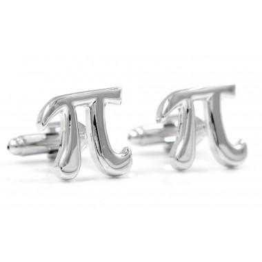Spinki do mankietów - liczba Pi