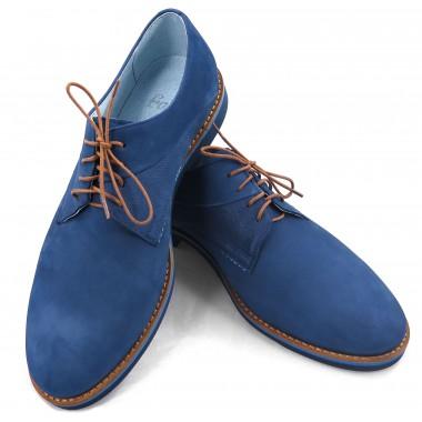 Niebieskie obuwie męskie