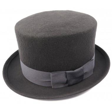 Szary cylinder / kapelusz męski G3
