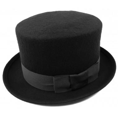Czarny cylinder / kapelusz męski G4