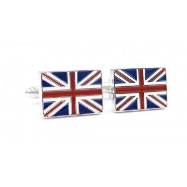 Spinki do mankietów - Flaga Wielkiej Brytanii U85