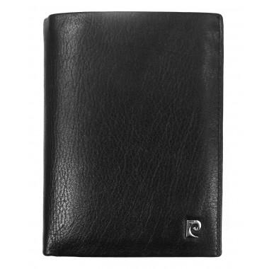 Skórzany portfel Pierre Cardin z dużą ilością zakładek PF1