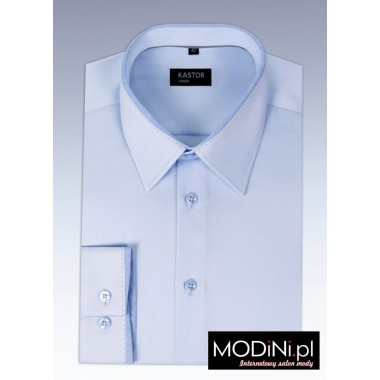 Błękitna koszula Kastor -...