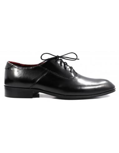 Eleganckie czarne obuwie męskie T69