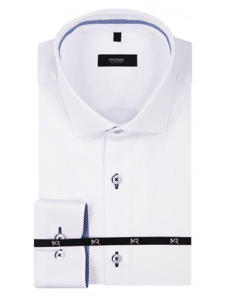 Biała koszula męska Mmer 209