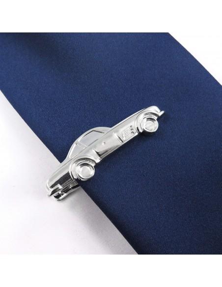Srebrna spinka do krawata - samochód ZS17