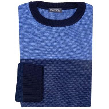 Niebiesko-granatowy sweter męski SW20