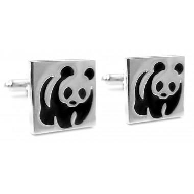 Spinki do mankietów - pandy U130