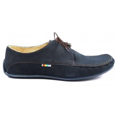 Granatowe obuwie męskie T84