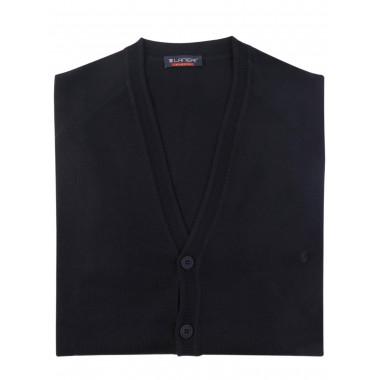 Czarny sweter/cardigan casual 10-/105