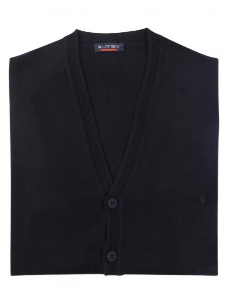 CIemnogranatowy sweter/cardigan casual SW27