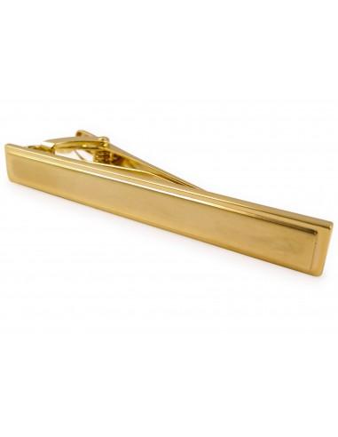 Złota klasyczna spinka do krawata ZS29