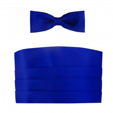 Kobaltowy - niebieski pas...
