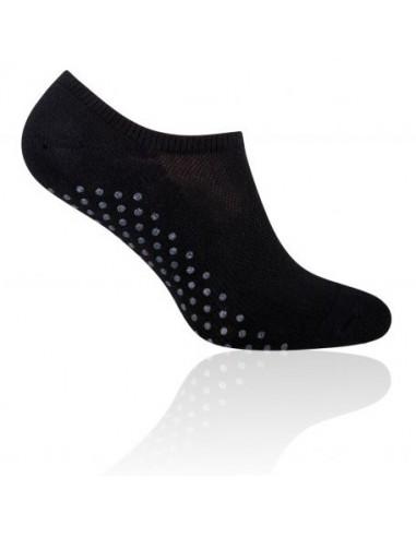 Czarne skarpetki stopki antypoślizgowe SK104