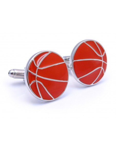 Spinki do mankietów - piłki do koszykówki U156