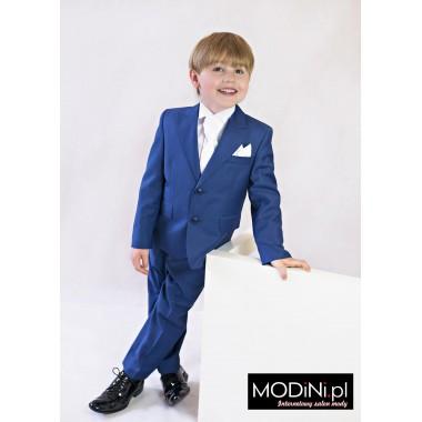 Niebieski garnitur dziecięcy
