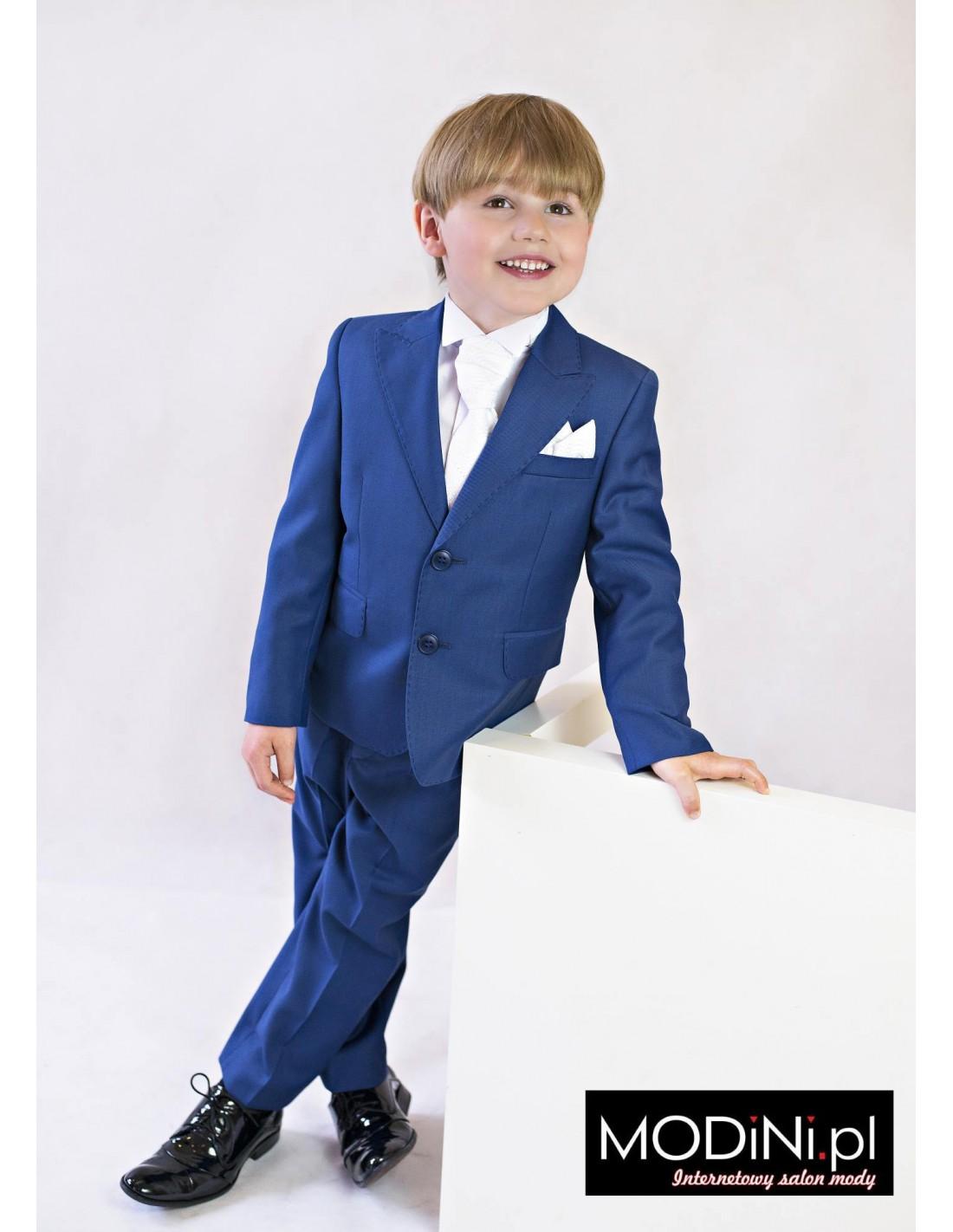 4b5d1f83cc884 Niebieski garnitur dziecięcy | Sklep Internetowy Modini.pl