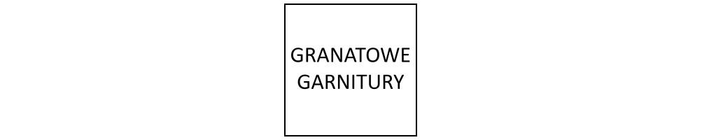 Granatowe garnitury