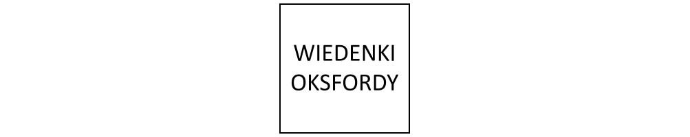 Oksfordy - wiedenki