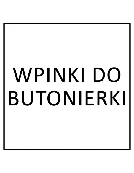 Wpinki do butonierki