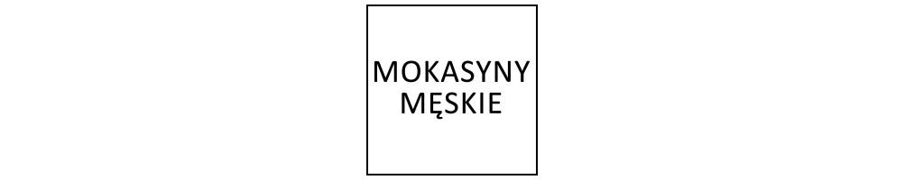 Mokasyny męskie
