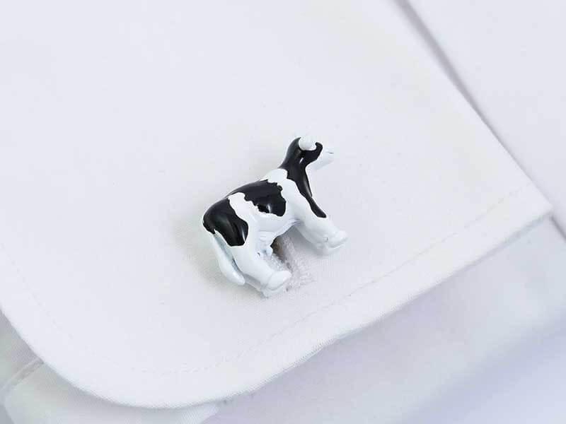 Spinki do mankietów - krowy A233