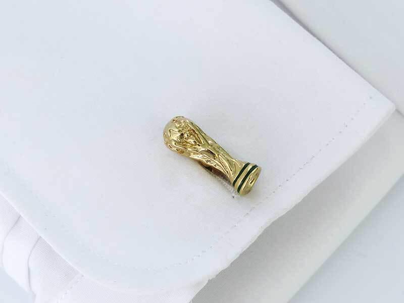 Złote spinki do mankietów - Puchar Świata Fifa U256