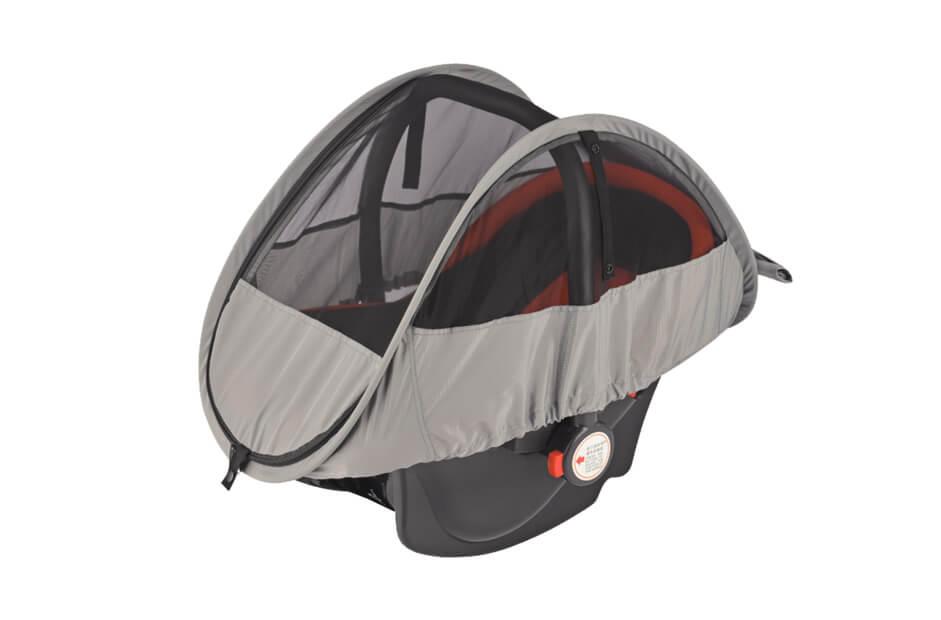 Moskitiera i osłona przeciwsłoneczna 2w1 do fotelików samochodowych OS17